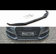 Maxton Design Maxton Design FRONT SPLITTER Audi S6 / A6 S-Line C7 FL