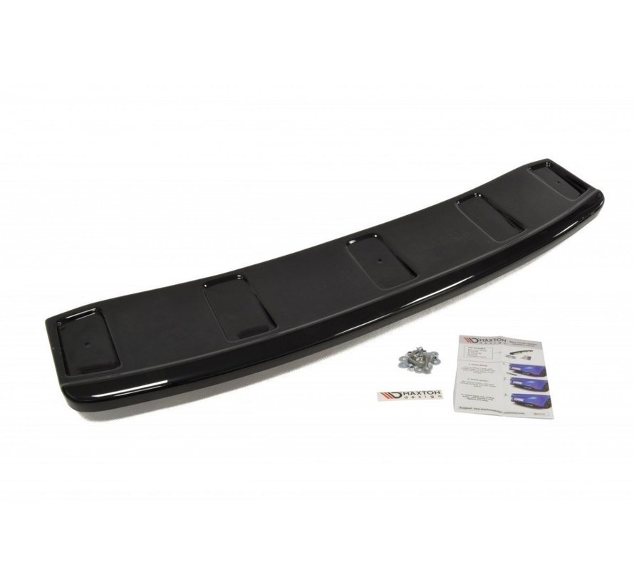 Maxton Design CENTRAL REAR DIFFUSER AUDI A7 S-LINE (FACELIFT) (with vertical bars)