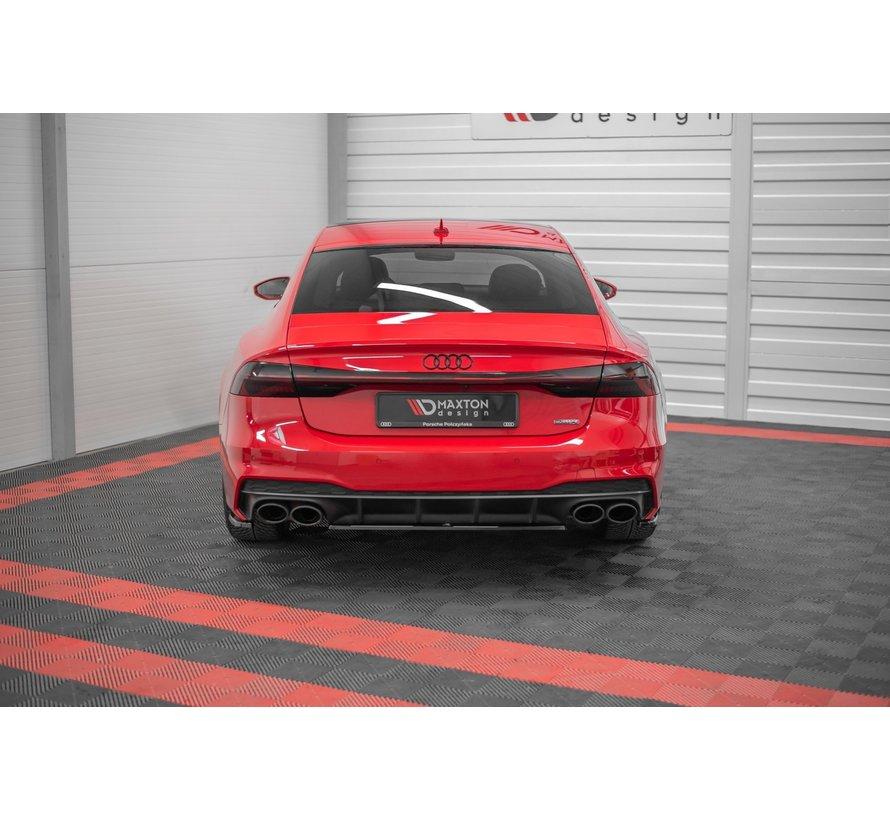 Maxton Design CENTRAL REAR DIFFUSER Audi A7 C8 S-Line
