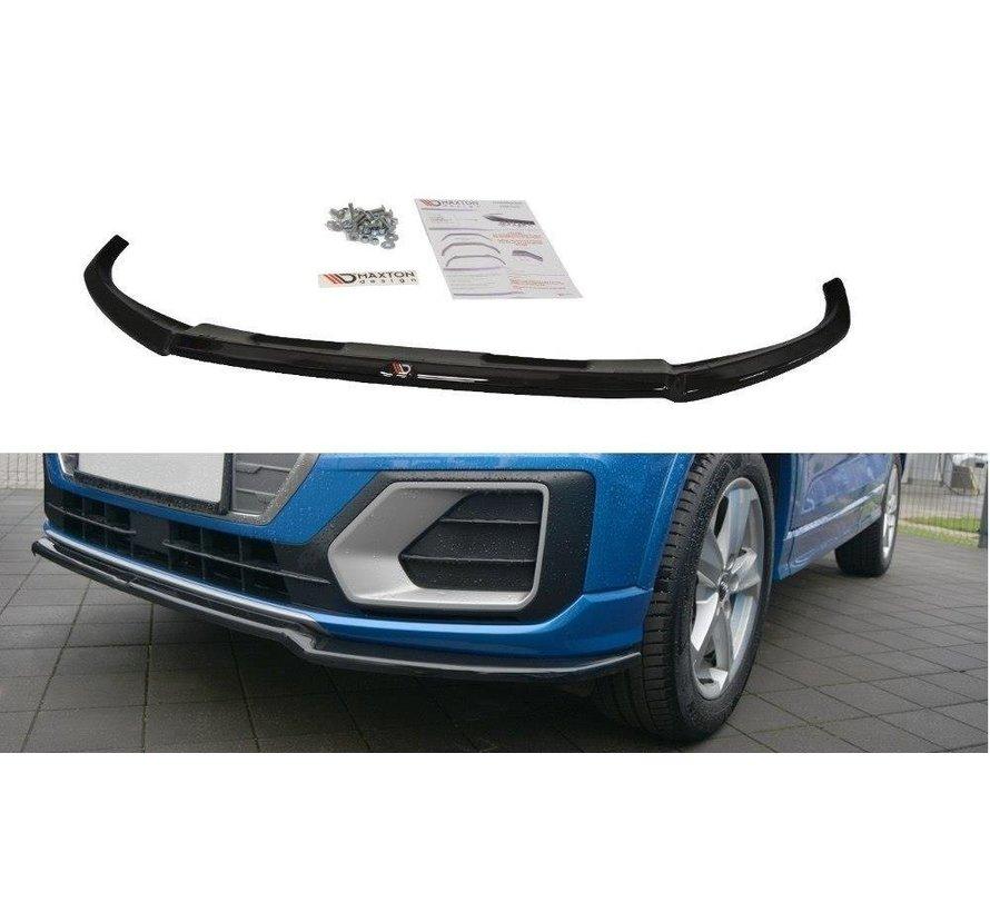 Maxton Design FRONT SPLITTER Audi Q2 Mk.1