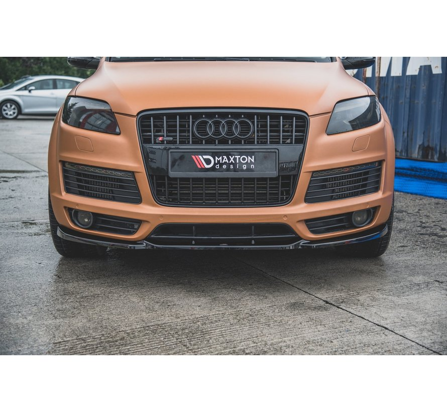 Maxton Design FRONT SPLITTER Audi Q7 S-Line Mk.1