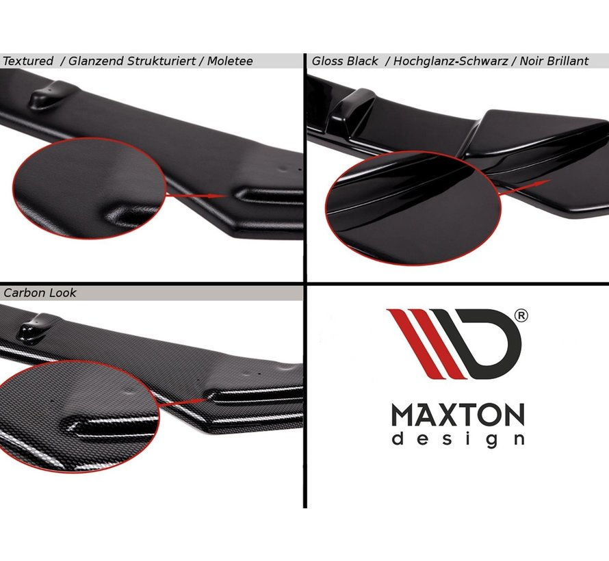 Maxton Design FRONT SPLITTER  Audi Q8 S-line