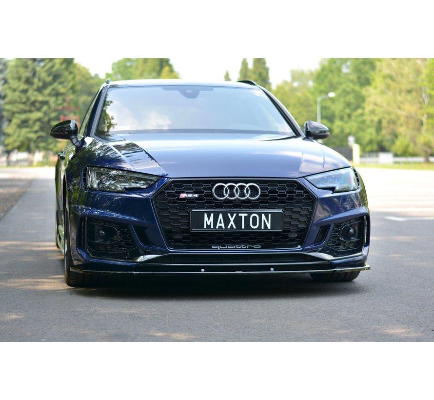 Maxton Design FRONT SPLITTER V.1 Audi RS4 B9