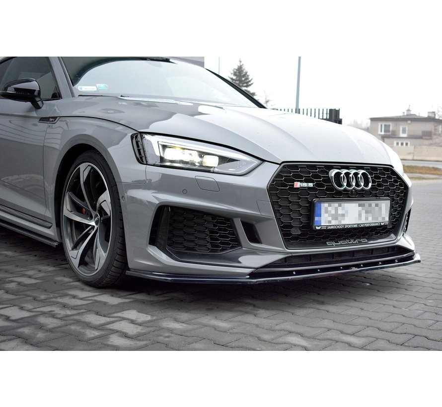 Maxton Design FRONT SPLITTER V.1 Audi RS5 F5 Coupe / Sportback
