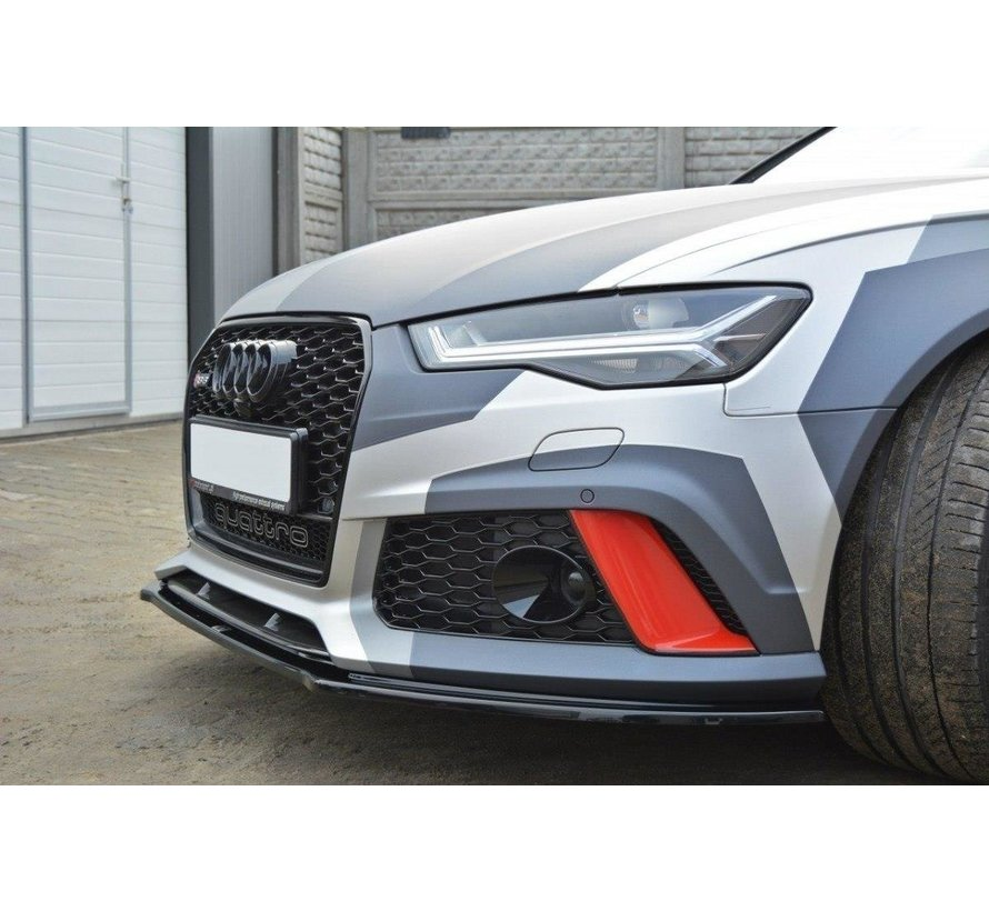 Maxton Design FRONT SPLITTER V.1 Audi RS6 C7 / C7 FL