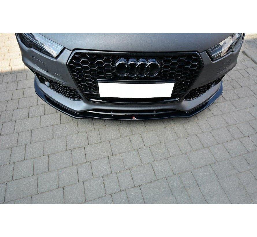 Maxton Design FRONT SPLITTER V.1 Audi RS7 Facelift