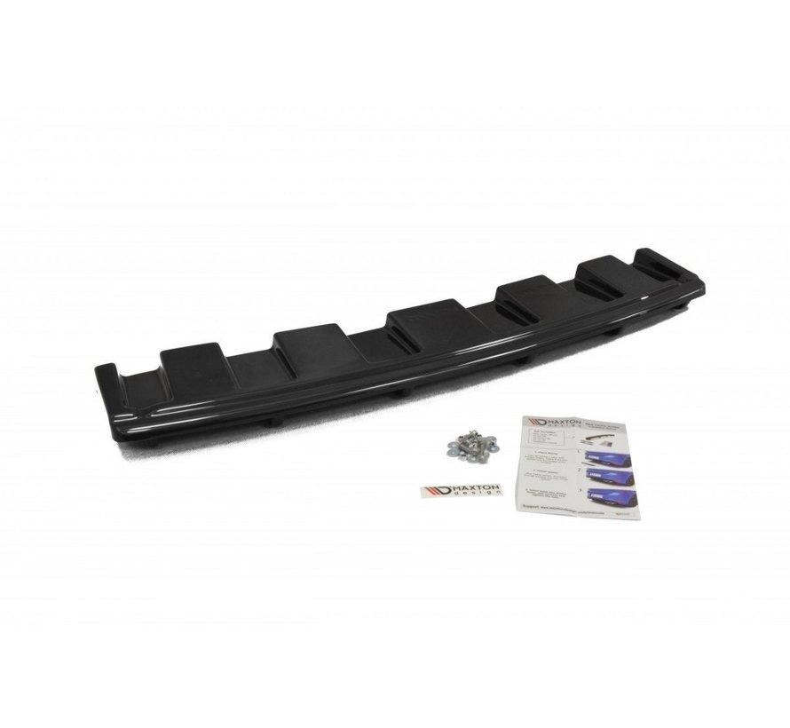 Maxton Design CENTRAL REAR DIFFUSER AUDI S6 C7 AVANT (with vertical bars)