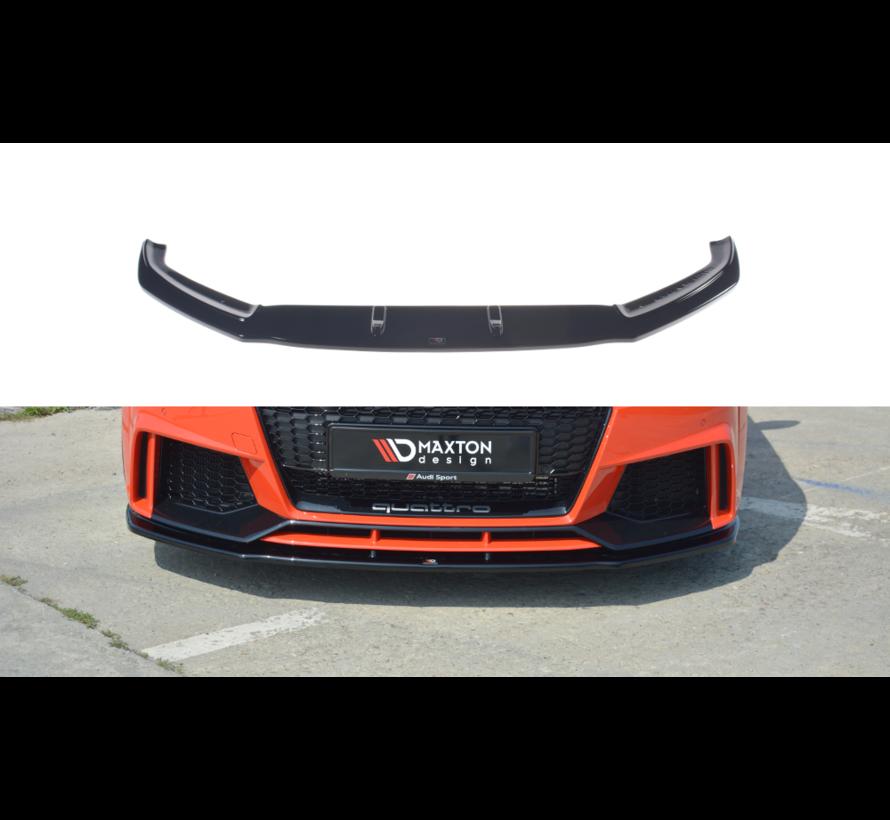 Maxton Design FRONT SPLITTER V.1 Audi TT RS 8S