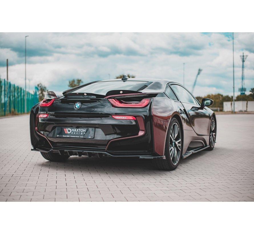 Maxton Design Central Cap Spoiler BMW i8