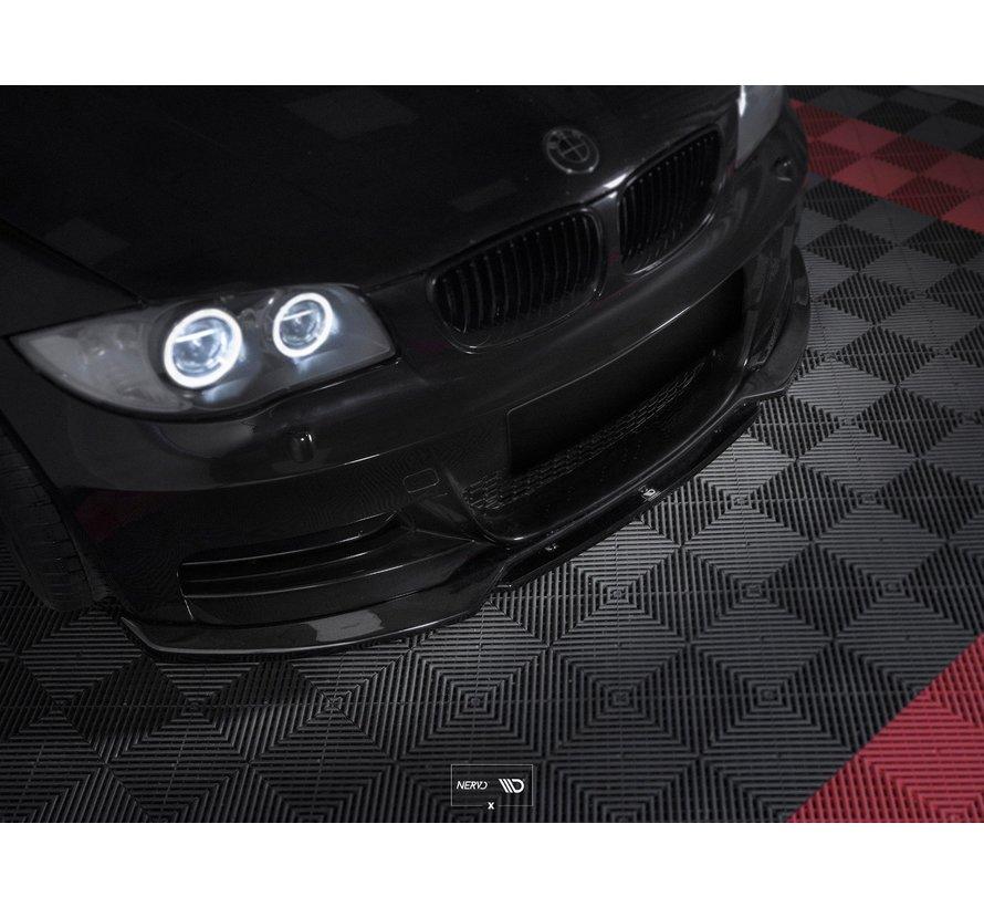 Maxton Design FRONT SPLITTER V.1 BMW 1 E82 FACELIFT M-PACK