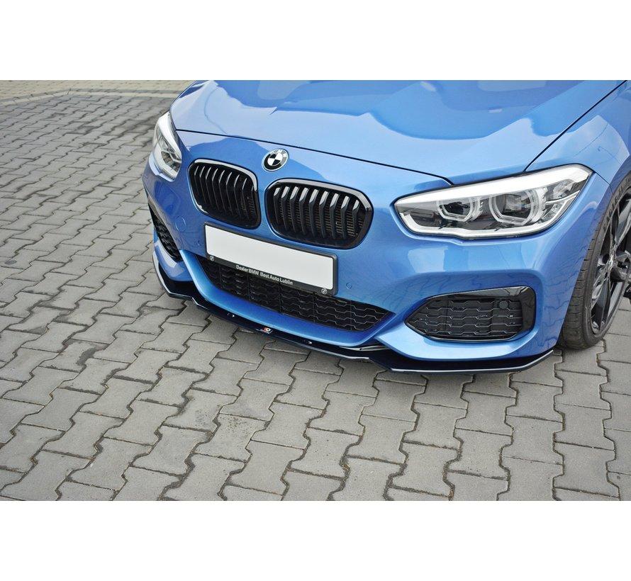 Maxton Design FRONT SPLITTER V.1 BMW 1 F20/F21 M-POWER FACELIFT