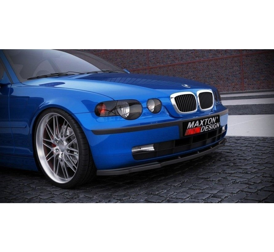Maxton Design FRONT SPLITTER BMW 3 E46 COMPACT
