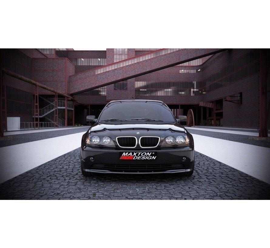 Maxton Design FRONT SPLITTER BMW 3 E46 SALOON FACELIFT MODEL