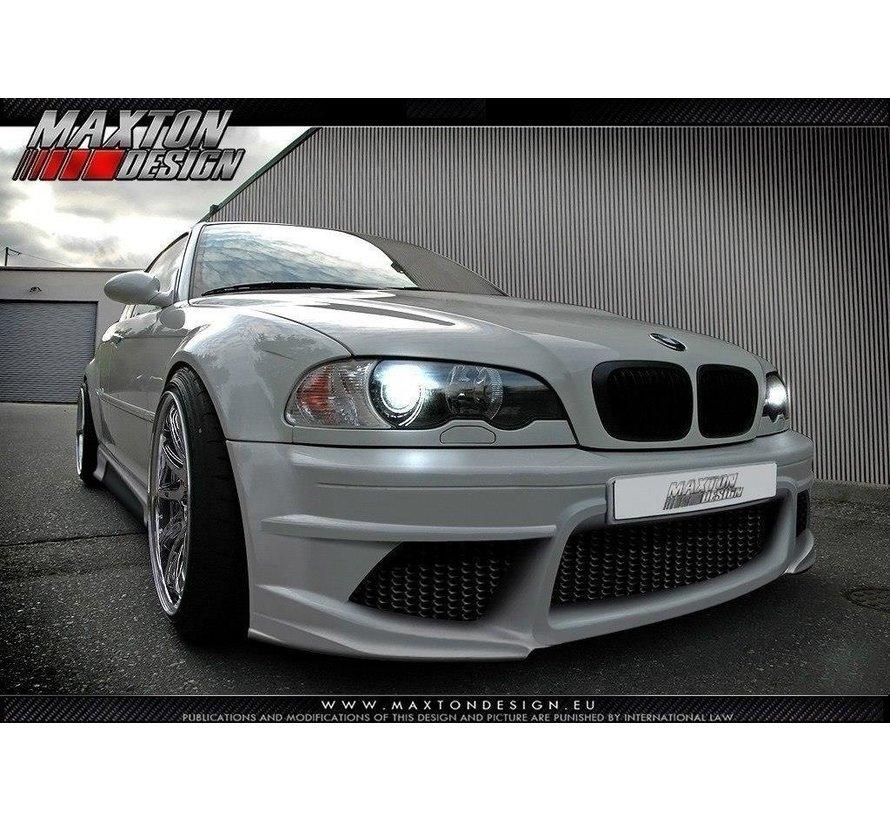 Maxton Design FRONT BUMPER BMW 3 E46 - 4 DOOR SALOON < GENERATION V >