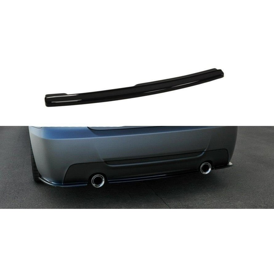 Maxton Design CENTRAL REAR DIFFUSER BMW 3 E92 MPACK
