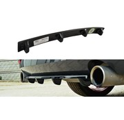 Maxton Design Maxton Design CENTRAL REAR DIFFUSER BMW 4 F32 M-PACK (with vertical bars)