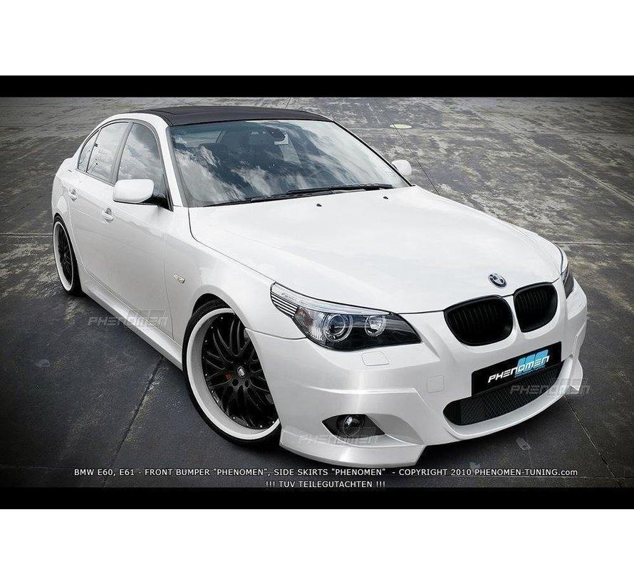 Maxton Design FRONT BUMPER BMW 5 E60 / E61 < PHENOMEN >