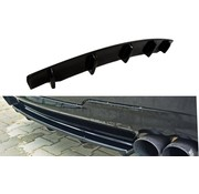Maxton Design Maxton Design CENTRAL REAR DIFFUSER BMW 5 F11 M-PACK (fits two double exhaust ends)