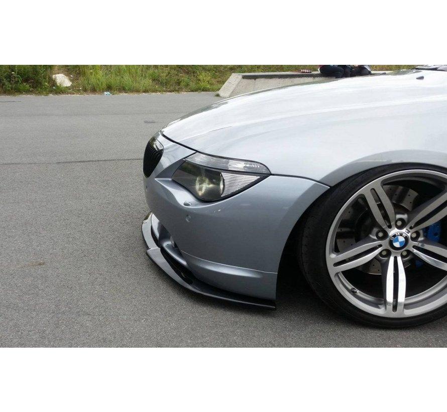 Maxton Design FRONT SPLITTER BMW 6 E63 / E64 (PREFACE MODEL) v.2