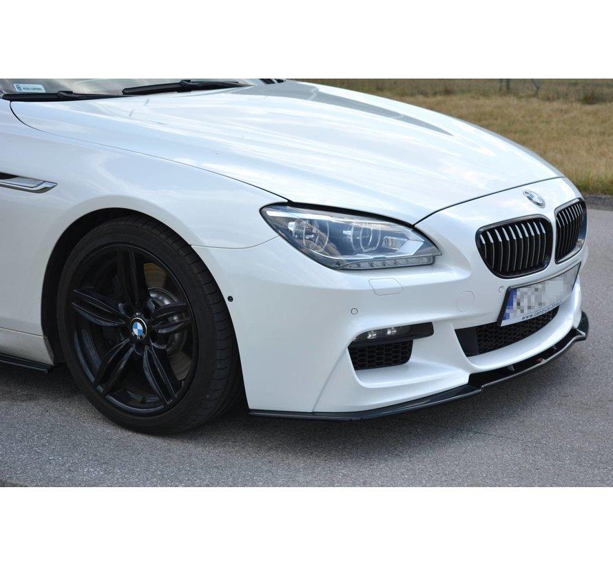 Maxton Design FRONT SPLITTER BMW 6 Gran Coupé MPACK