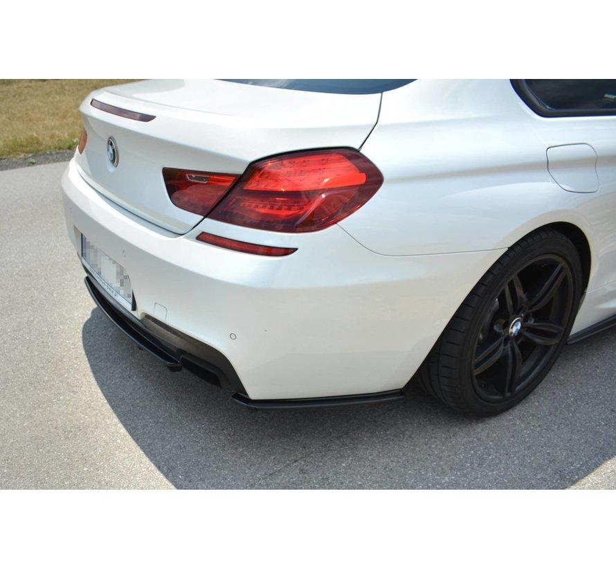 Maxton Design CENTRAL REAR DIFFUSER BMW 6 Gran Coupé MPACK (with a vertical bar)