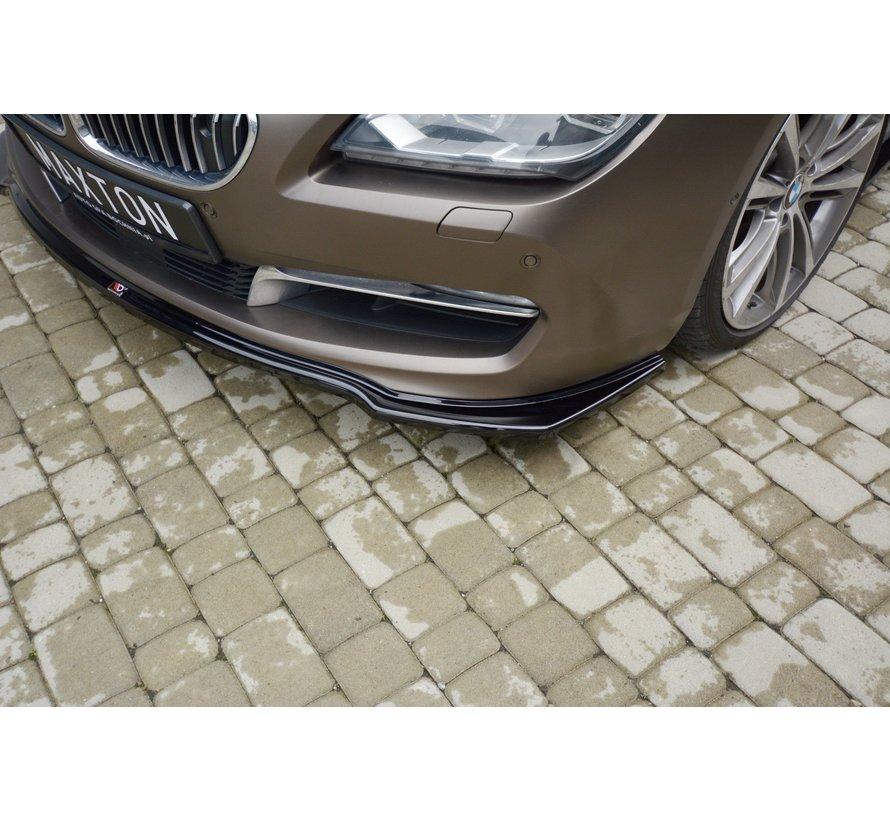 Maxton Design FRONT SPLITTER BMW 6 GRAN COUPÉ