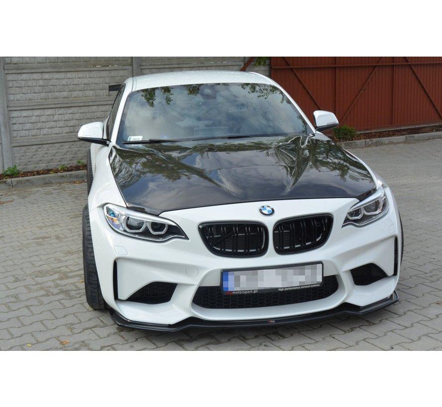 Maxton Design FRONT SPLITTER BMW M2 (F87) COUPÉ