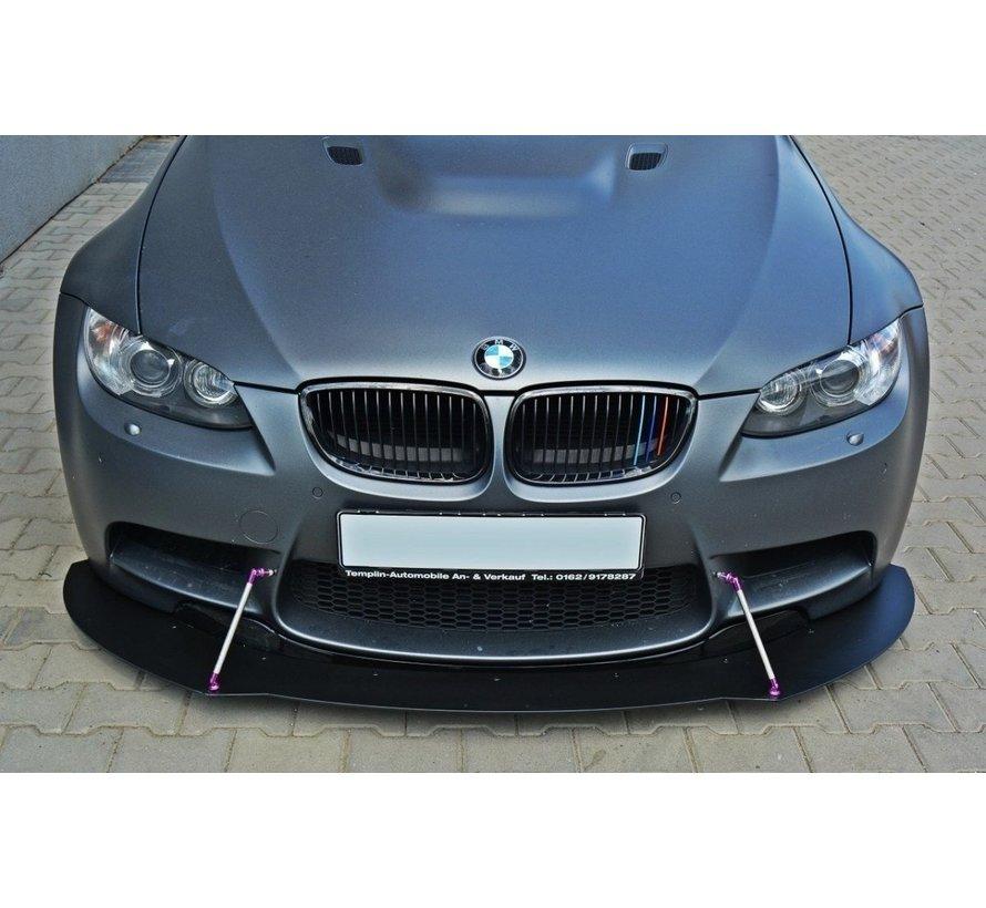 Maxton Design FRONT RACING SPLITTER BMW M3 E92 / E93 (PREFACE MODEL)