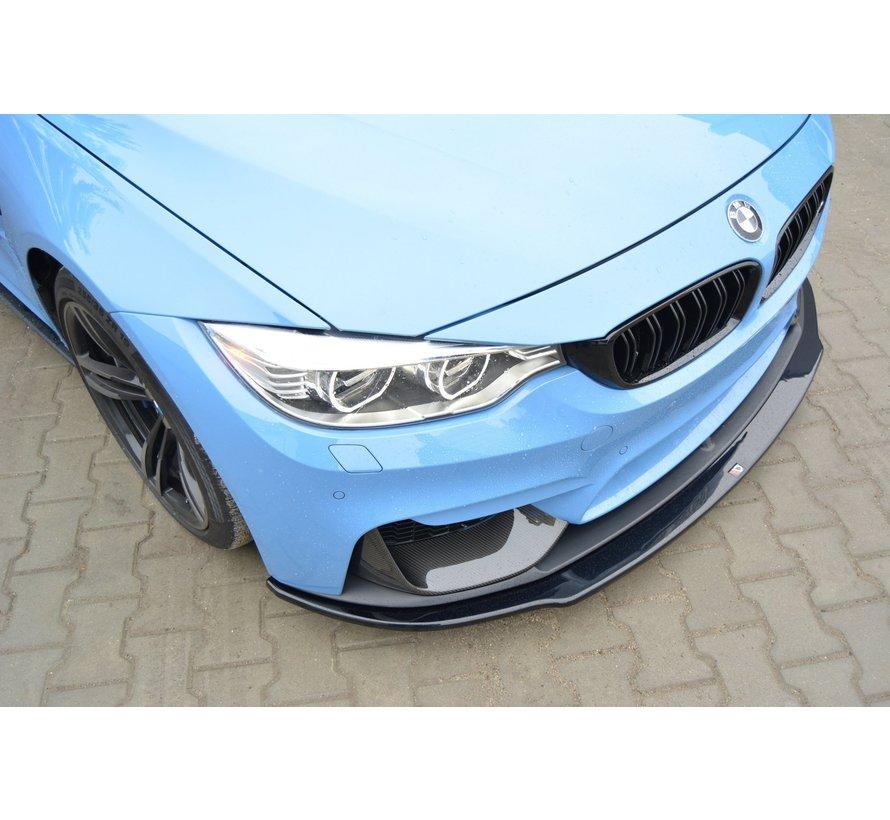 Maxton Design FRONT SPLITTER  BMW M4 F82 M-performance