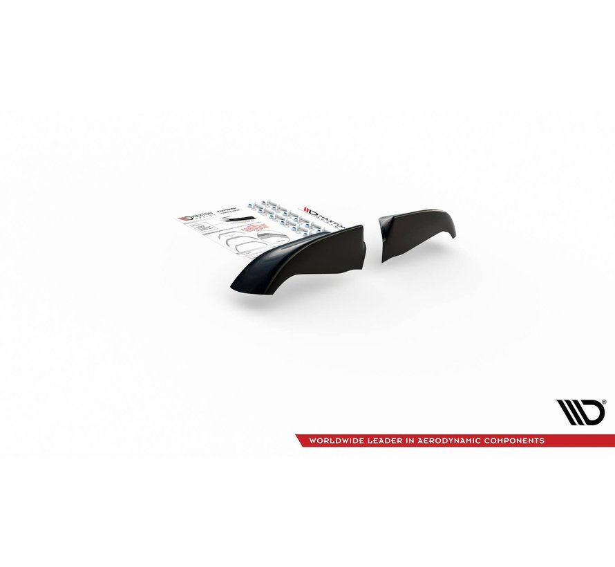 Maxton Design Front Side Splitters + Maxton Design FRONT SPLITTER Set  BMW M5 E39