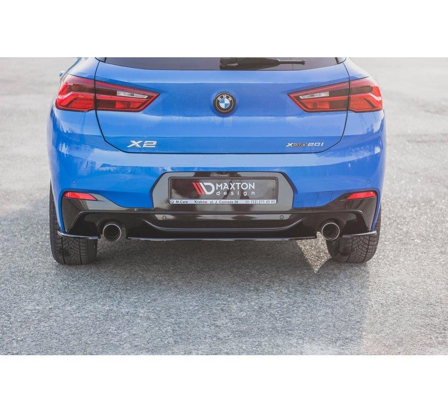 Maxton Design CENTRAL REAR DIFFUSER BMW X2 F39 M-Pack