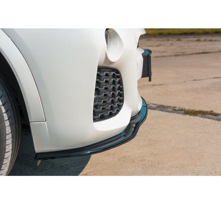 Maxton Design FRONT SPLITTER BMW X3 F25 M-Pack Facelift