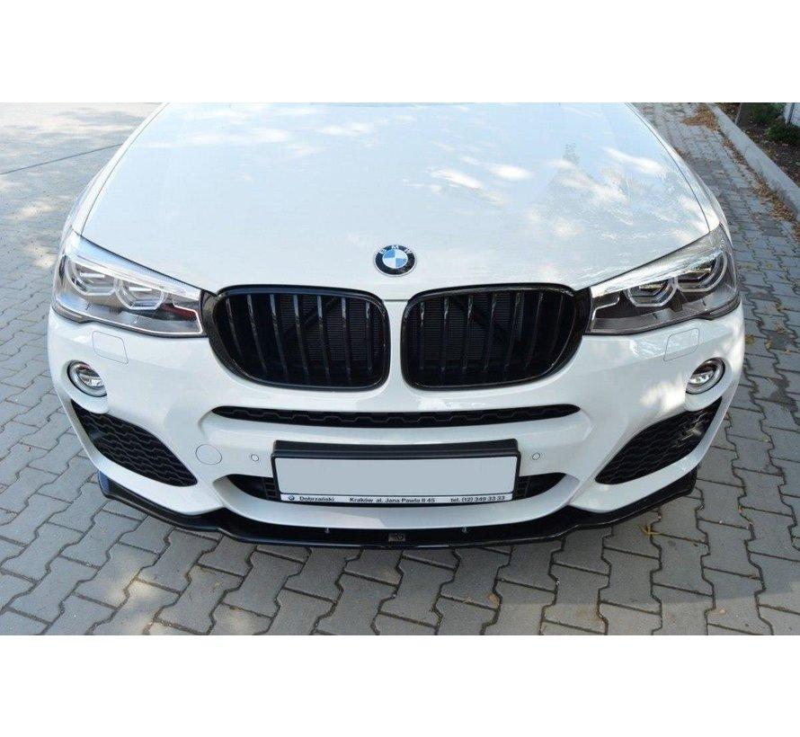 Maxton Design FRONT SPLITTER BMW X4 M-PACK