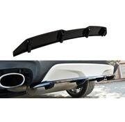 Maxton Design Maxton Design CENTRAL REAR DIFFUSER BMW X4 M-PACK (with a vertical bar)