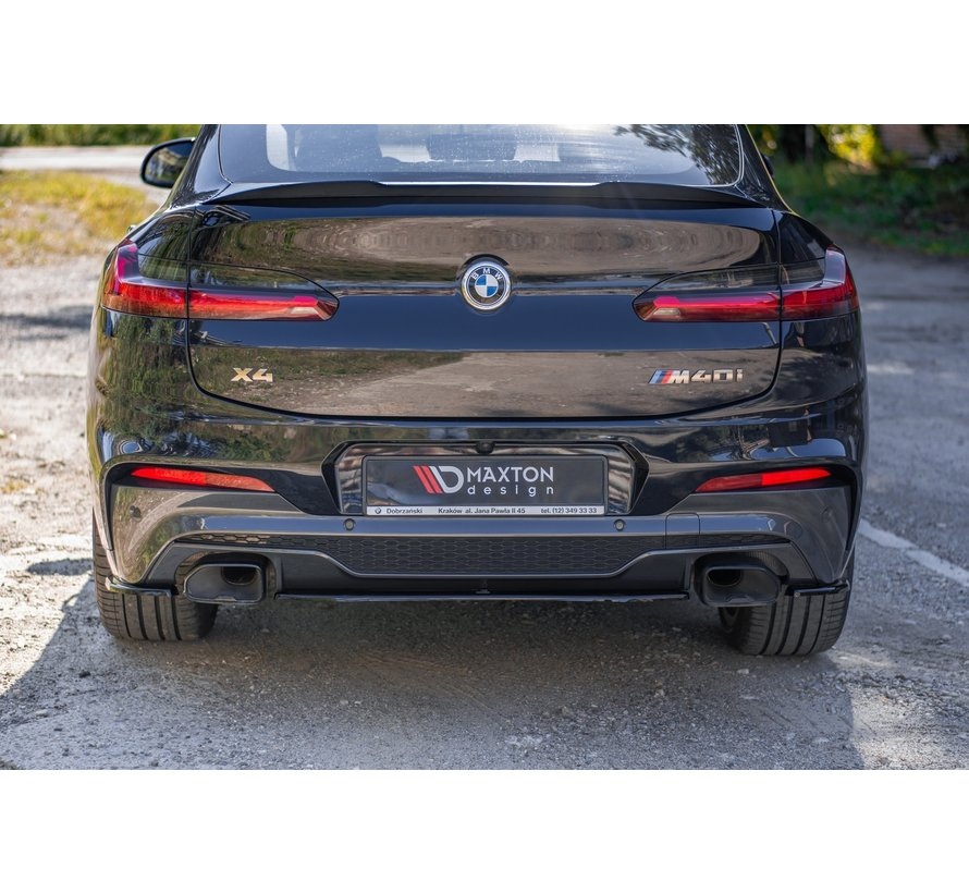 Maxton Design CENTRAL REAR DIFFUSER BMW X4 M-Pack G02