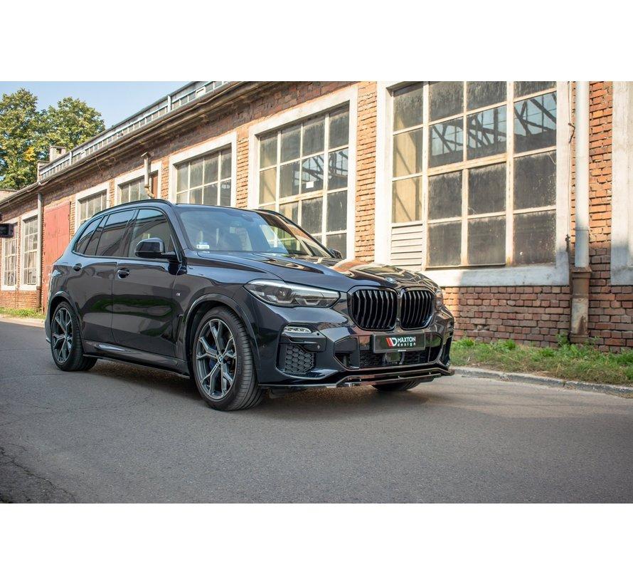 Maxton Design FRONT SPLITTER BMW X5 G05 M-pack