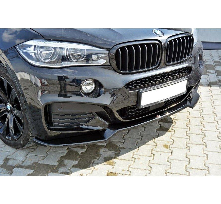 Maxton Design FRONT SPLITTER v.1 BMW X6 F16 MPACK