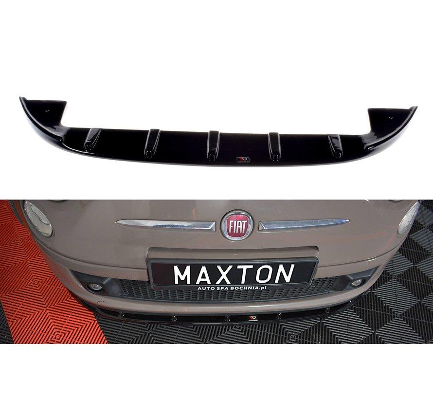 Maxton Design FRONT SPLITTER V.1 FIAT 500 HATCHBACK PREFACE