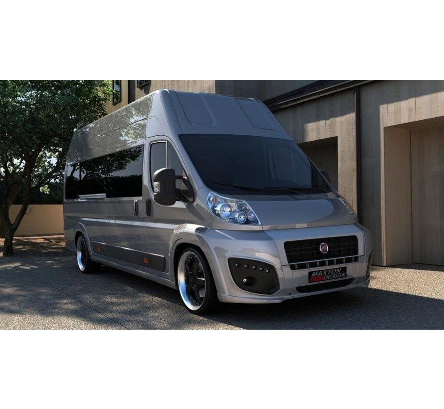 Maxton Design FRONT BUMPER FIAT DUCATO III WITH LED