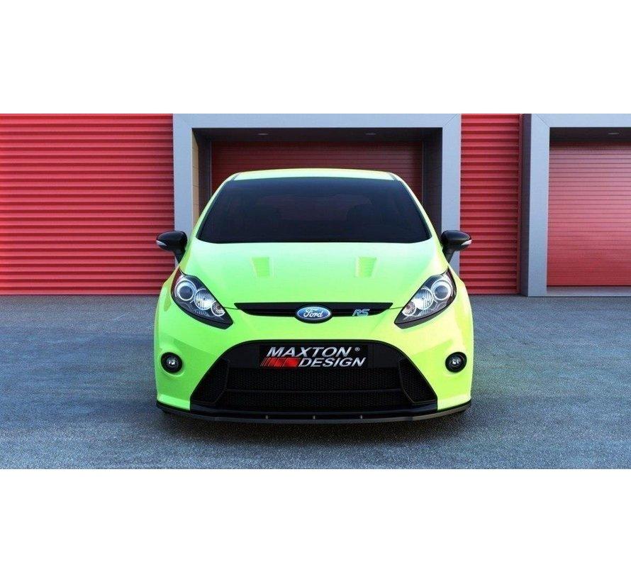 Maxton Design FRONT SPLITTER (RS Look Bumper) Ford Fiesta Mk7
