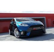 Maxton Design Maxton Design FRONT BUMPER (Focus RS Look) Ford Fiesta Mk7 FL