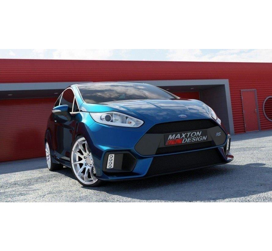 Maxton Design FRONT BUMPER (Focus RS Look) Ford Fiesta Mk7 FL