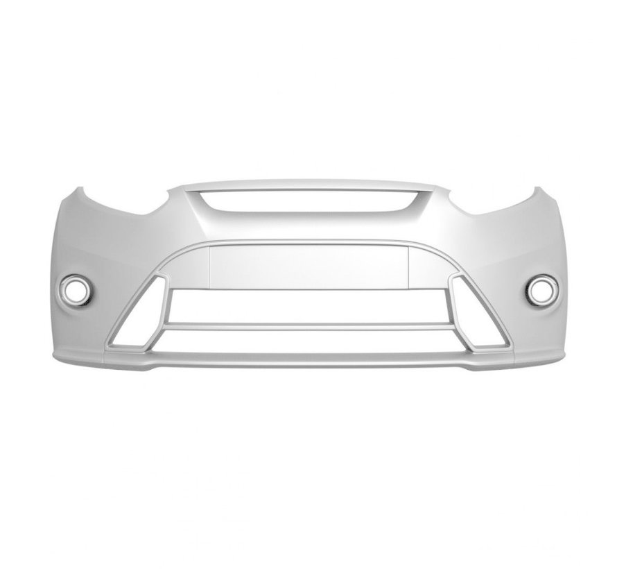 Maxton Design FRONT BUMPER (RS Look) Ford Fiesta Mk7 FL