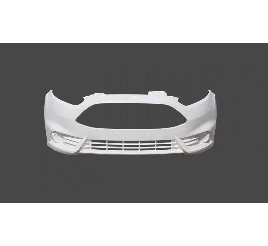 Maxton Design FRONT BUMPER (ST Look) Ford Fiesta Mk7 FL