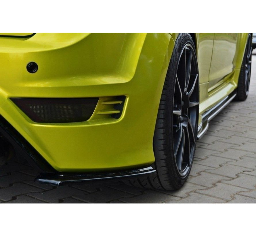 Maxton Design REAR SIDE SPLITTERS FORD FOCUS MK2 RS