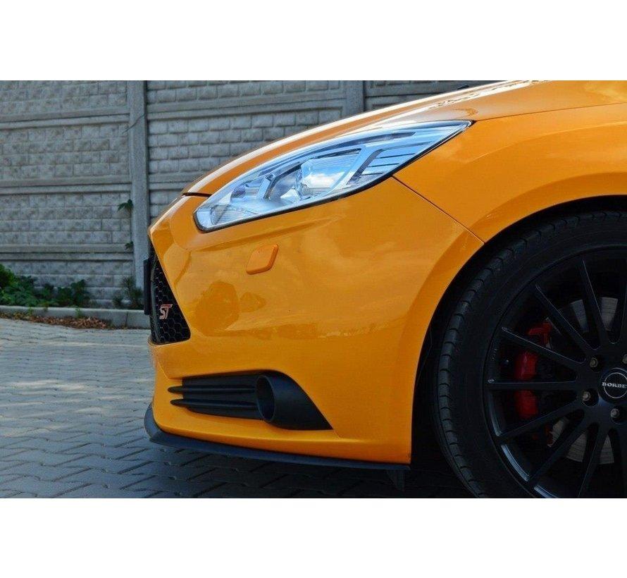 Maxton Design FRONT SPLITTER Ford Focus ST Mk3 (Cupra)
