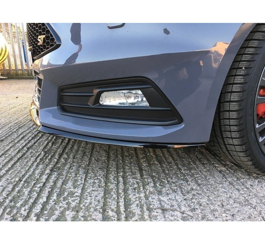 Maxton Design FRONT SPLITTER Ford Focus ST Mk3 FL (Cupra)