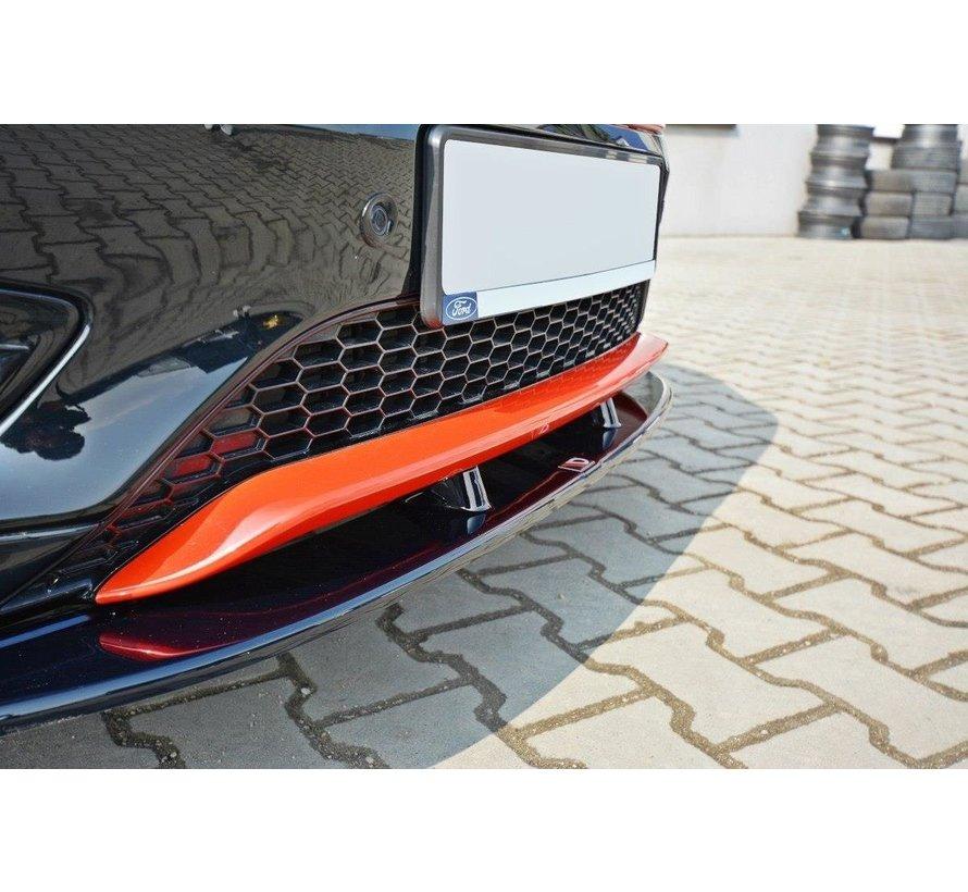Maxton Design FRONT SPLITTER V.1 Ford Focus ST-Line Mk3 FL