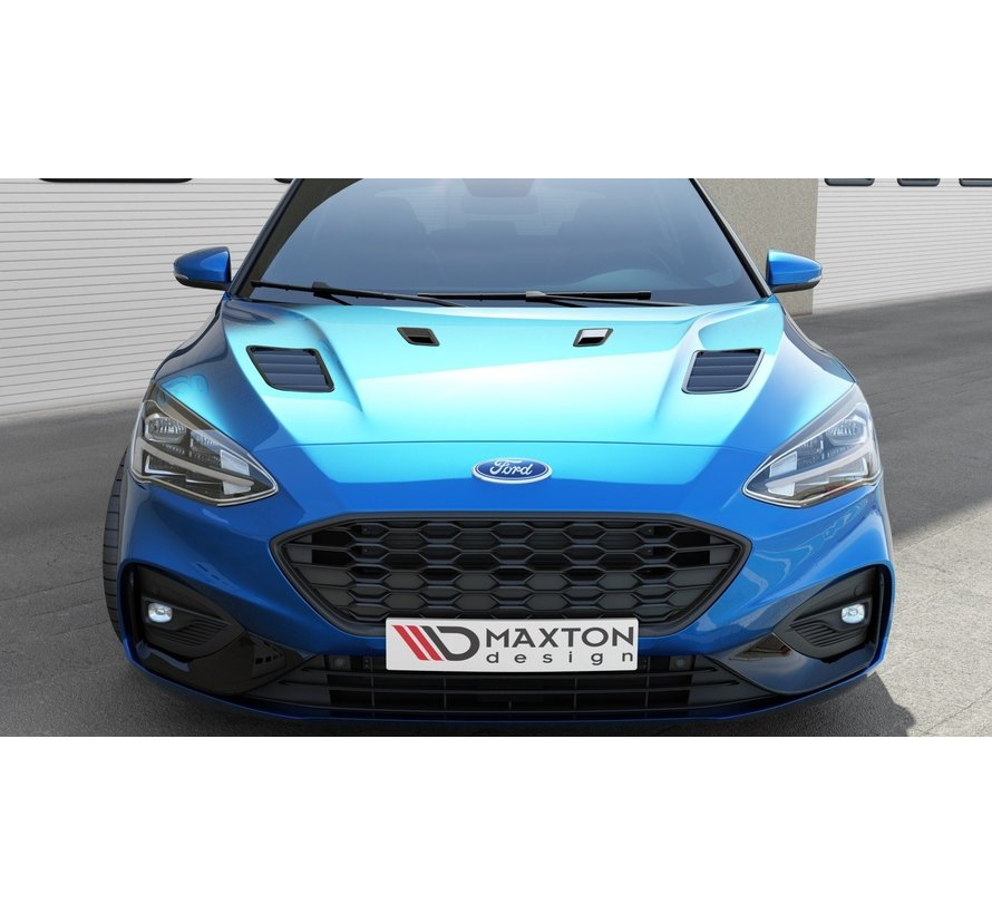 Maxton Design Bonnet Vents Ford Focus ST-Line / ST Mk4