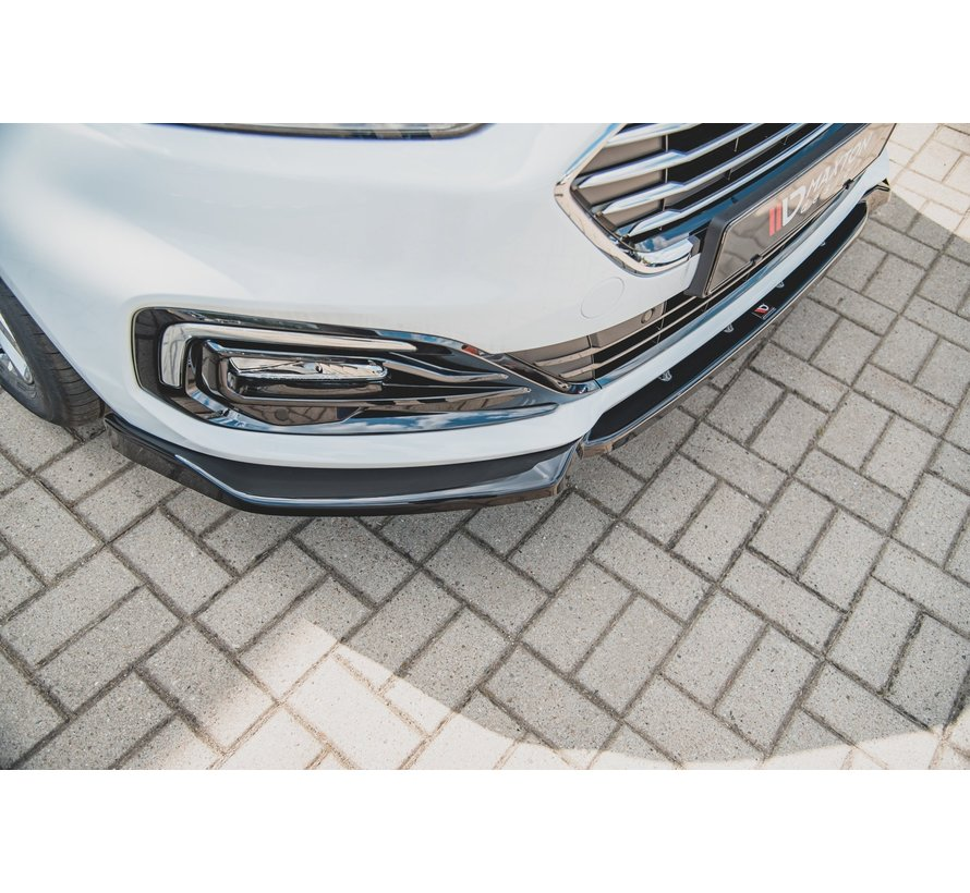 Maxton Design FRONT SPLITTER Ford Mondeo Mk5 Facelift